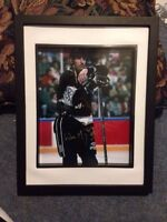 NHL signed and framed photos