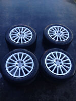 """17"""" Alloy Wheels for winter use."""