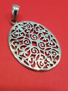 Cargo Hold Sterling Silver Pendant