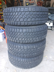 185/65/14 Artic Claw tires