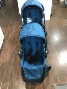 Baby Jogger City Select Stroller + 2nd seat - Teal (Floormodel)
