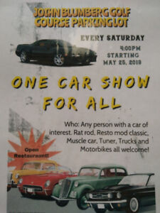 Finally  a cruise night/car show on Saturday