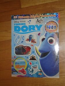 New - Finding Dory Sticke Book
