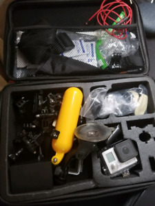 GoPro Hero3 + plus with accessory kit