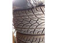 986 Boxster alloys & tyres