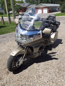 1998 Goldwing SE with trailer