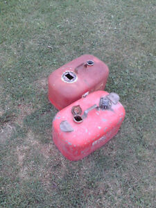 OMC/Johnson 6 Gallon Steel Outboard Boat Gas Tanks Sarnia Sarnia Area image 2