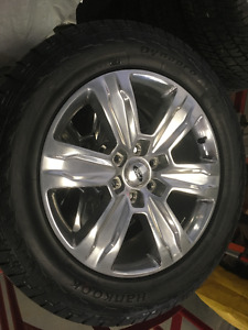 FORD F150 FACTORY TAKE OF RIMS AND TIRES