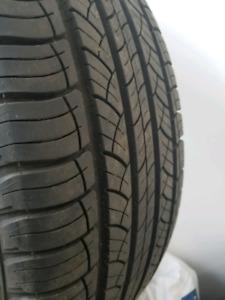 4 pneus été 245/55R19 CONTINENTAL