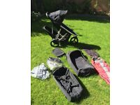 Phil and Ted Vibe Double Buggy with extras