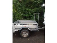 DAXARA 167 Galvanised Tipping Trailer