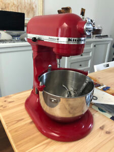 KitchenAid Artisan 5-qt Stand Mixer Empire Red - $300 (Toronto)