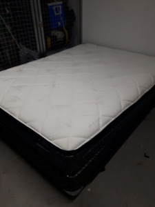 Brand new bed mattress, box spring and frame