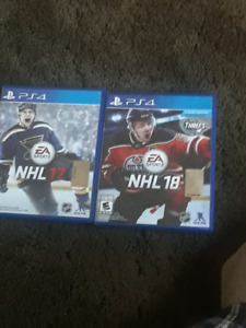 NHL 17 and 18