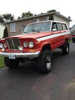 Lifted 1986 Jeep Wagoneer
