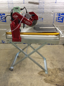 MK-101 PRO-24 10 in. Tile Saw with Stand and Wheels $1200.00 OBO