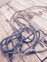 Complete wiring harness from a boss snow plow