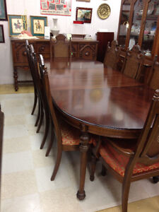 Rare Gibbard Walnut Dining Suite SOLD Kingston Kingston Area image 3