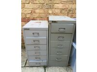 Drawer filing cabinets