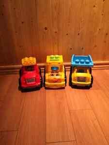 3 Lego trucks Cornwall Ontario image 1