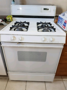 Gas stove and dishwasher