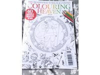 Collection of books inc Brand New colouring heaven
