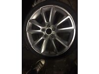 "Vauxhall Astra VXR 19"" Alloy Wheel with 2 tyres"