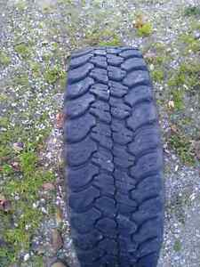 Good year wrangler territory mud and snow tires  Stratford Kitchener Area image 1