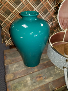 17 ' H green vase from stunning William Alexandar Collection