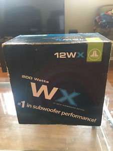 """Brand new in box JL Audio 12"""" Subwoofer"""