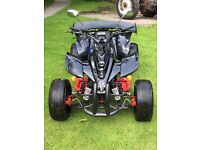 SPY 250CC. F1 ROAD LEGAL QUAD.. 60 PLATE..NO M.O.T BUT SHOULD PASS.. GOOD CONDITION AND RUNNER