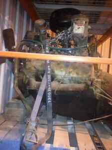 ford flat head motor and transmission