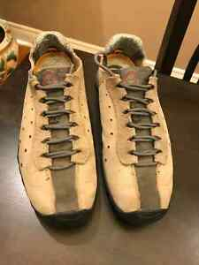 TIMBERLAND MEN SMARTWOOL LEATHER HIKING SHOES SIZE 8.5