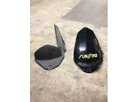 Used Pyramid rear hugger for kawasaki Er6 '09-'11