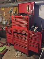 Mac 2000 series Tool box with side cabinets