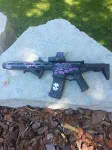 Airsoft Ares Amoeba Honeybadger
