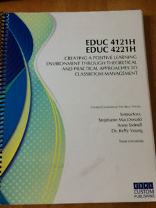 Bachelor of Education:  BOOKS FOR SALE!