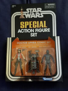 Star Wars figures, Big Figs (Vader, Dr Aphra SDCC, Jabba, etc)
