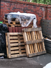 Wood pallets for sale