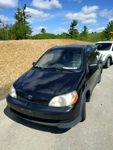2000 Toyota Echo 117000km. Must go! As is!