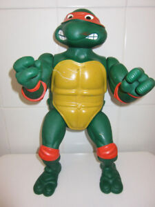 Vintage Ninja Turtles Poseable Toy Large 14""