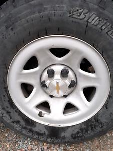 Je cherche roues silverado de 17 pouce de couleur gris
