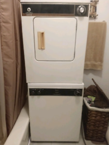 Washer, dryer and rack 24inch