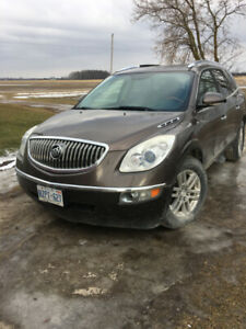 09 buick enclave all wheel drive fully loaded leather interior