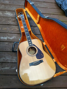 1978 Yamaha FG375S Jumbo Folk Guitar made in japan