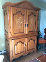 Meuble audio Armoire style antique