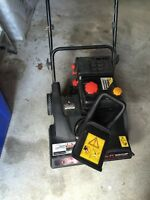 "Craftsman 179cc 21"" electric start snowblower"