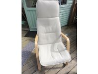 Ikea Poang High Back Chair.