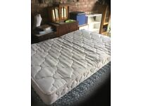 A 4' Wide Small Double Bed Mattress.