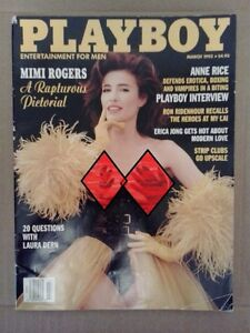 1993 March issue of Playboy